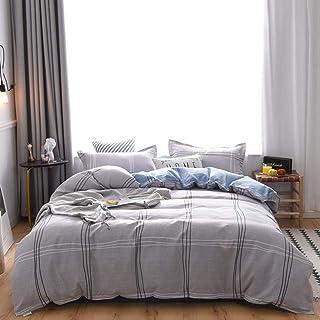 Bedsure Bed Sheet Set - Shrinkage & Fade Resistant - Extra Deep Pocket Sheets Set -Soft Sheets Hypoallergenic,B,1.5
