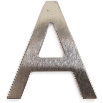 A 5cm Placa de Puerta de Letra de Direcci/ón de Habitaci/ón para Oficina Casa Hotel de Pl/ástico ABS Material Durable Pr/áctico