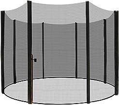 LZQ Vervangend net veiligheidsnet trampoline net voor trampoline tuintrampolines Ø 244/305/366/430 cm met ritssluiting, U...