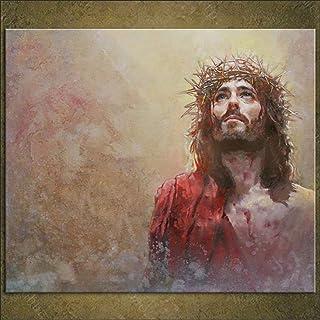 Carteles e impresiones de lienzo de Jesucristo Jesús Cuadros de arte de pared para sala de estar Decoración del hogar Cuad...