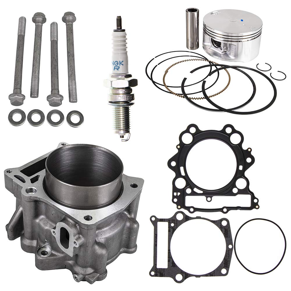 Cylinder Head /& Base Gasket Kit Set Combo For 2001-2008 Yamaha Raptor Grizzly Replaces 3YF-11351 5KM-11351 3YF-11181