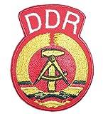 shirt-side gmbh Patch Aufnäher Aufbügelbar DDR Logo