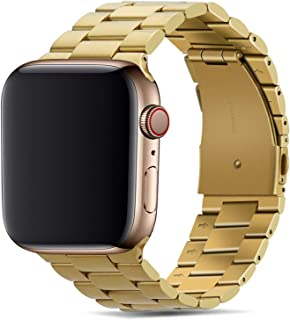 Tasikar Band Compatible with Apple Watch Band 44mm 42mm Premium Stainless Steel Metal Replacement Strap Compatible with Ap...
