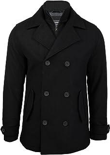 724c674b48737c uomo a doppio petto Melton cappotto giacca da Tokyo Laundry 'hexacode'