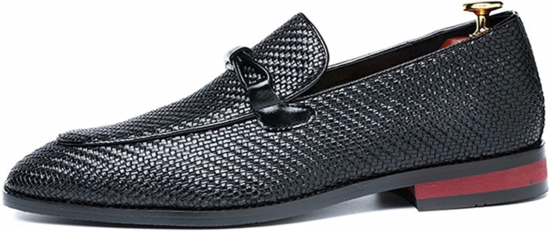 FeiZhi Men's Formal Oxford Shoes Classic Modern Derby Shoes