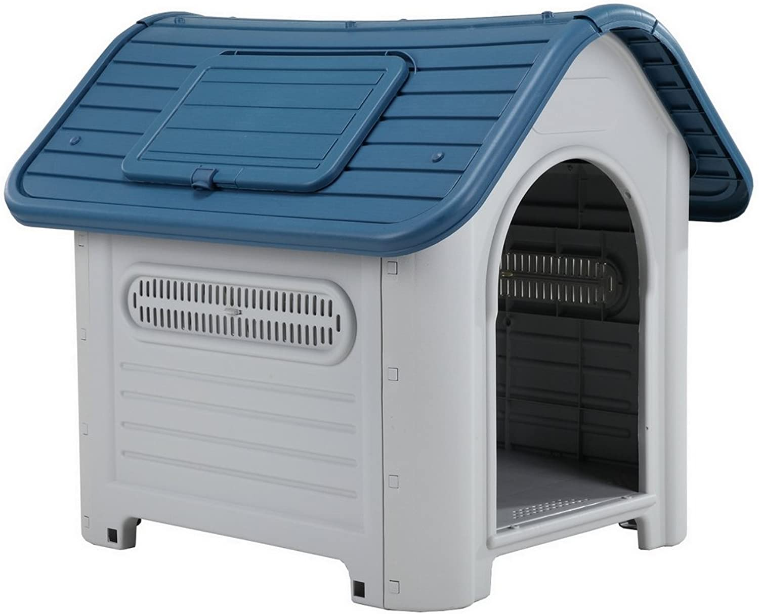 Confidence Pet Weatherproof Tough Large Plastic Dog Puppy Kennel with Vents