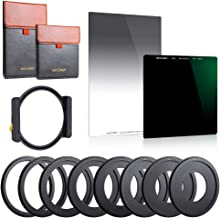 K&F Concept 100x100mm Square Filter ND1000 (10 Stop)&100X150mm Reverse Neutral Density Filter 0.9 Graduated Filter Multi C...