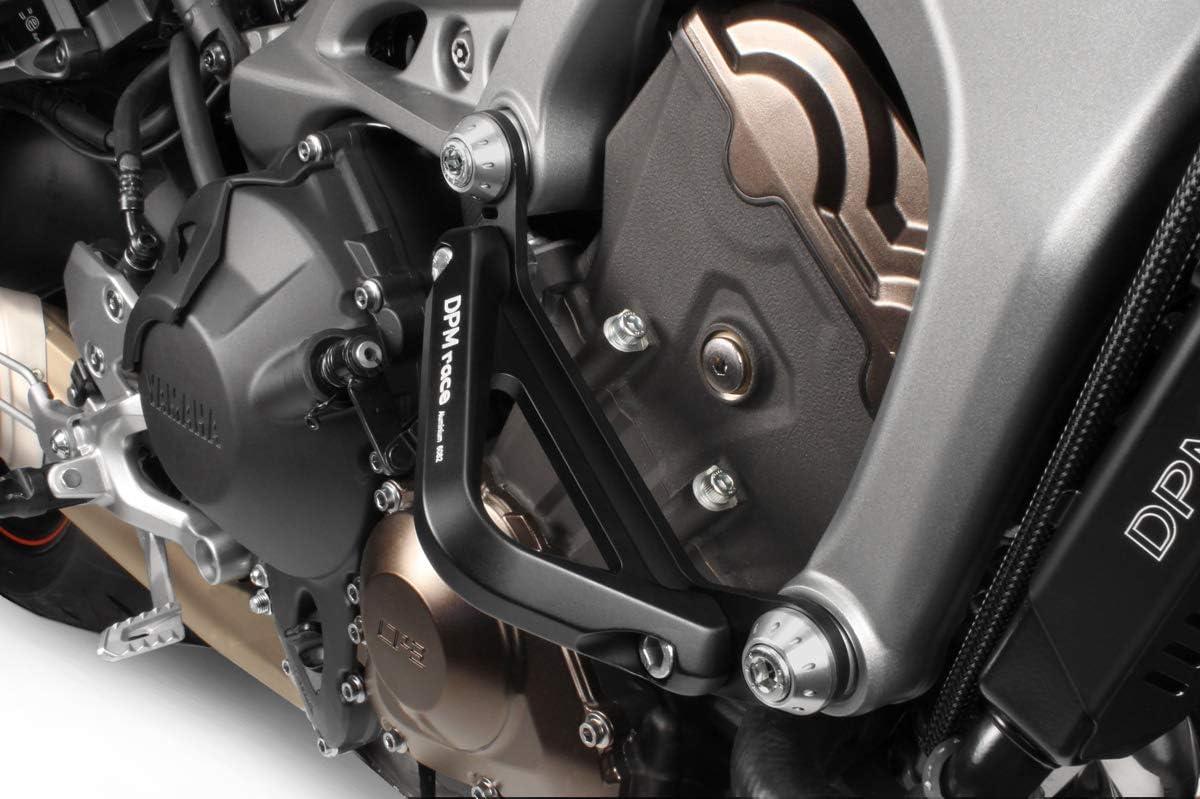 Mt 09 Fz09 2014 16 Kit Motorschutz R 0734 Aluminium Sturzbügel Sturzschutz Sturzpad Hardware Bolzen Enthalten Motorradzubehör De Pretto Moto Dpm Race 100 Made In Italy Auto