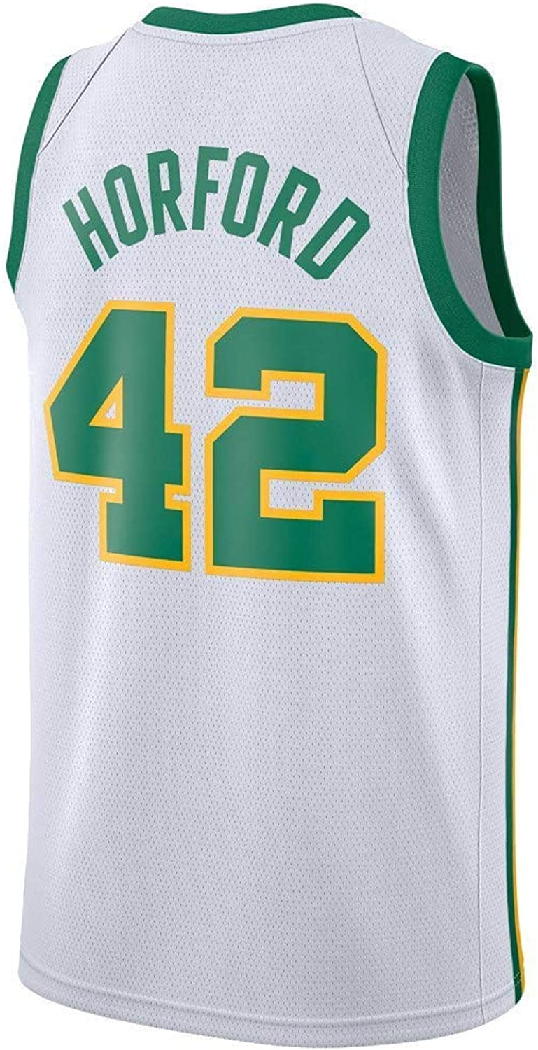 Herren-Basketballtrikot Al Horford   42 - NBA Boston Celtics , New Fabric Embroiderot Swingman Jersey rmelloses Shirt
