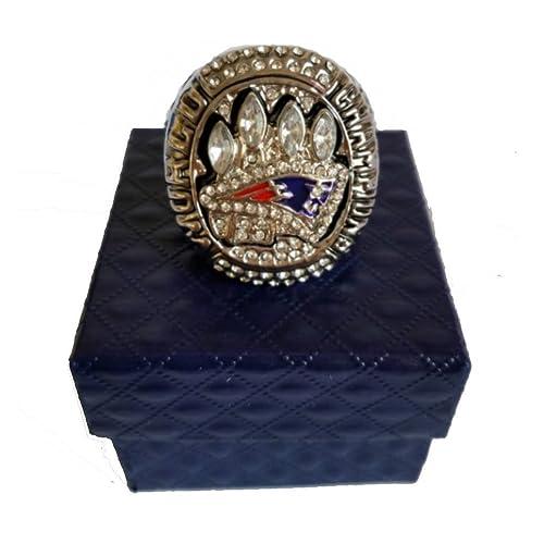 fec288e85 YIYICOOL New England Super Bowl 49 XLIX Replica Size 10