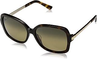 3a468d61c331 Maui Jim Maui Melika Gs760-02 Womens Sunglasses Black Gloss with Silver  Temple