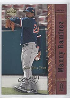 Manny Ramirez #9/25 (Baseball Card) 2001 Upper Deck Gold Glove - [Base] - Finite #26