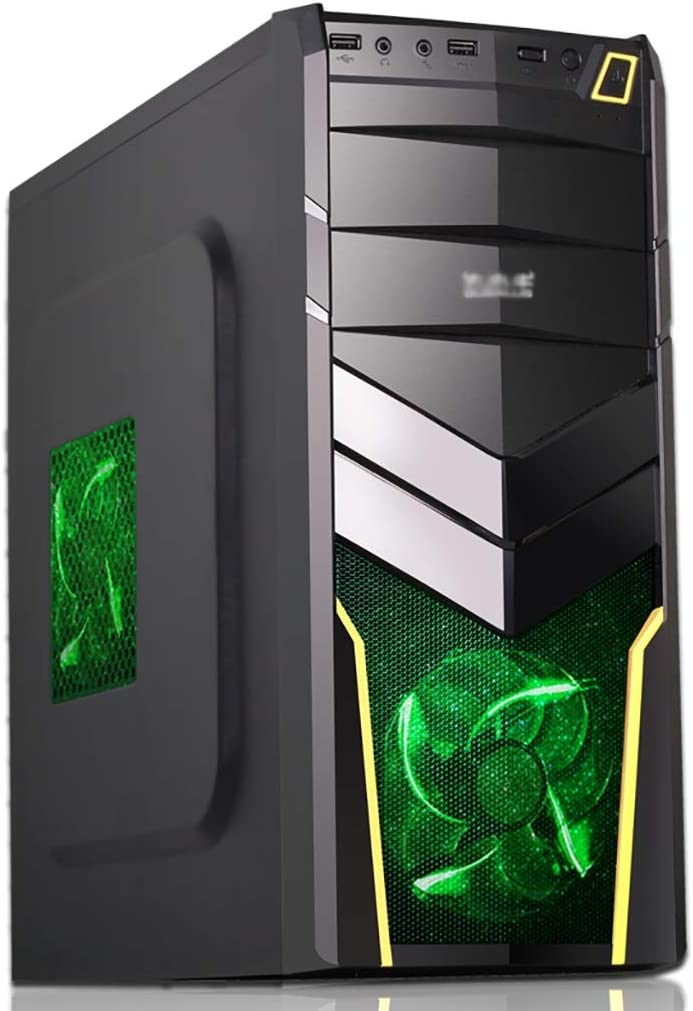 40% OFF Sale Cheap Sale WSNBB ATX Case Mid-Tower M-ATX F Computer PC 3 Gaming