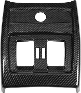Auto Lüftungsabdeckung hinten Lüftungsabdeckung für die Rücksitzklimaanlage Armaturenbretter im Carbon Stil für 3 4er F30 F34 13 18
