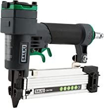Clavadora Neumática SALKI - Pistola de Clavos Neumática CSK P06, Grapadora para Trabajos de Carpintería, Compatible con PIN 0,6 de 12 a 35mm de Longitud