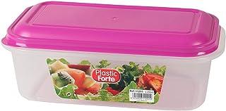 علبة زرقاء لحفظ الطعام من بلاستك فورت 11291
