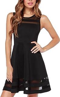 hot sale online 25e26 0caf7 Amazon.it: vestito nero corto ragazza - Nero
