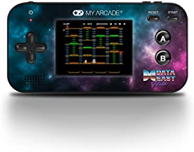 My Arcade Gamer V - Handheld Gaming System - 220 Retro Style Games Plus 8 Data East Classics - Lightweight Compact Size - Battery Powered - Full Color Display - Volume Buttons - Headphone Jack - Purple
