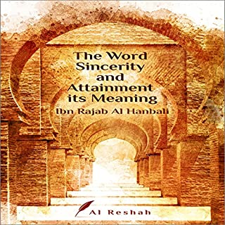 The Word Sincerity and Attainment Its Meanings cover art