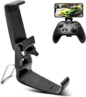 Phone Case DLseego Xbox One Controller Phone Mount Clip, Foldable Mobile Phone Holder for Game Controller, Smartphone Clam...