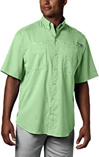 Columbia Men's PFG Tamiami II Short Sleeve Shirt, Moisture Wicking, Sun Protection