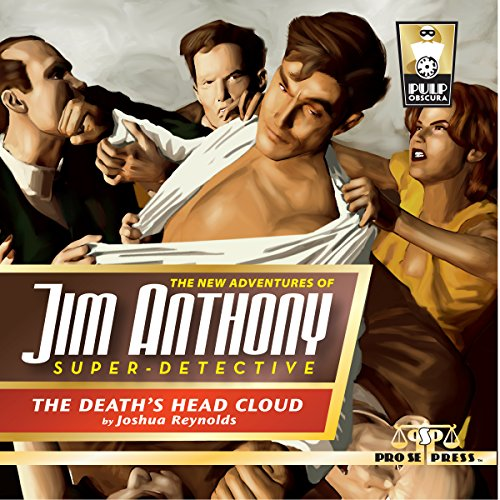 The New Adventures of Jim Anthony, Super-Detective cover art