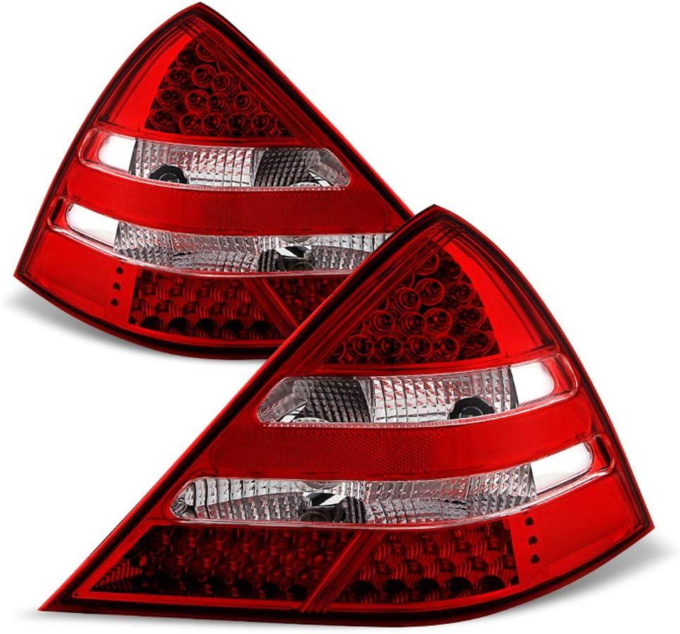 ACANII - For 1998-2004 Mercedes Benz 出群 SLK230 SLK320 LED R170 Red 有名な