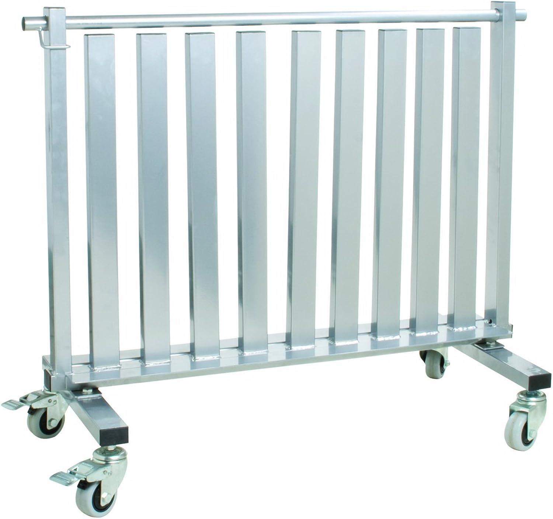 CanDo 100581 Dumbbell, Mobile Studio Rack, 1100 lb, Capacity