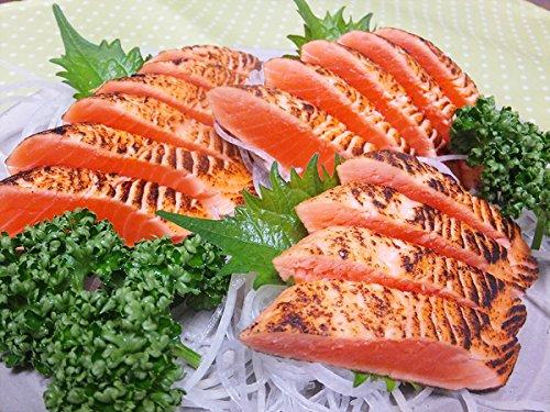 炙りサーモン 2kg サーモントラウト サーモントラウト さーもん サーモン さけ サケ 鮭 たたき 鮭たたき 炙り お刺身 お寿司 【水産フーズ】