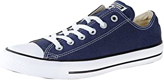 Converse Womens Unisex-Adult Chuck Taylor All Star Core Low Top Canva Chuck Taylor® All Star® Core Ox Size: 6 Women/4 Men Navy