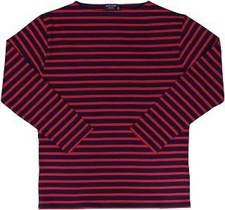 セントジェームス SAINT JAMES Tシャツ 長袖 ギルト メンズ レディース ボーダー GUILDO オフホワイト ネイビー 2501 [並行輸入品]