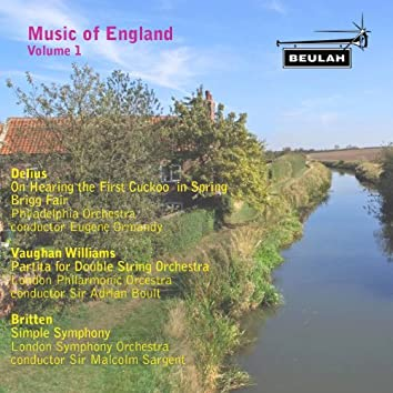 Music of England, Vol. 1
