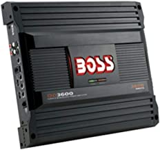Boss Dd3600 Class D Monoblock Amplifier With Maximum Power 3600 Watts Remote Subwoofer Control Variable Subsonic Filter Le...