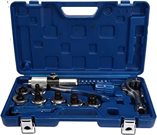 uxcell CT-300A Hydraulic Tube Expander 7 Lever Tubing Expanding Tool Swaging Kit Tool