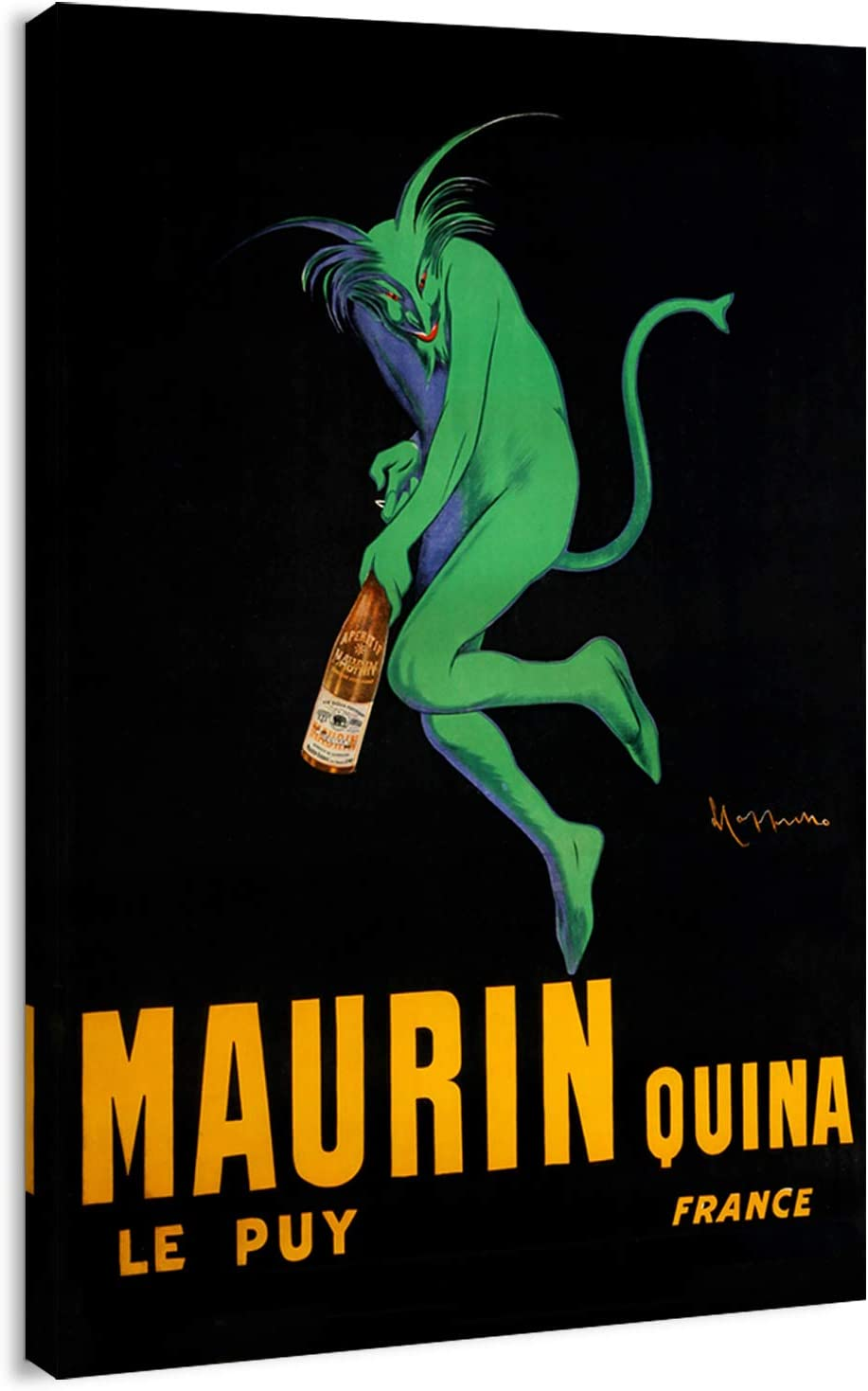 Canvas Print Financial sales sale Wall Art - shop Vintage Poster Wine Maurin French Quina
