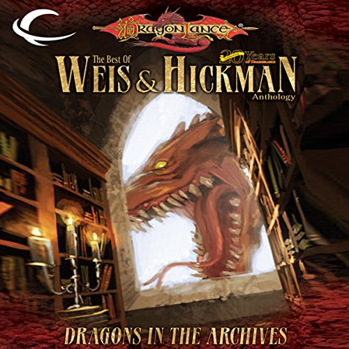 Dragons in the Archives audiobook cover art