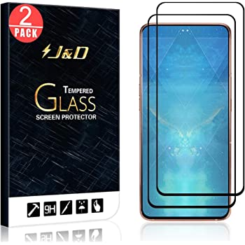 A90 Glass Film DESHENG Clear Screen Protector 25 PCS 9H 5D Full Glue Full Screen Tempered Glass Film for Galaxy A80
