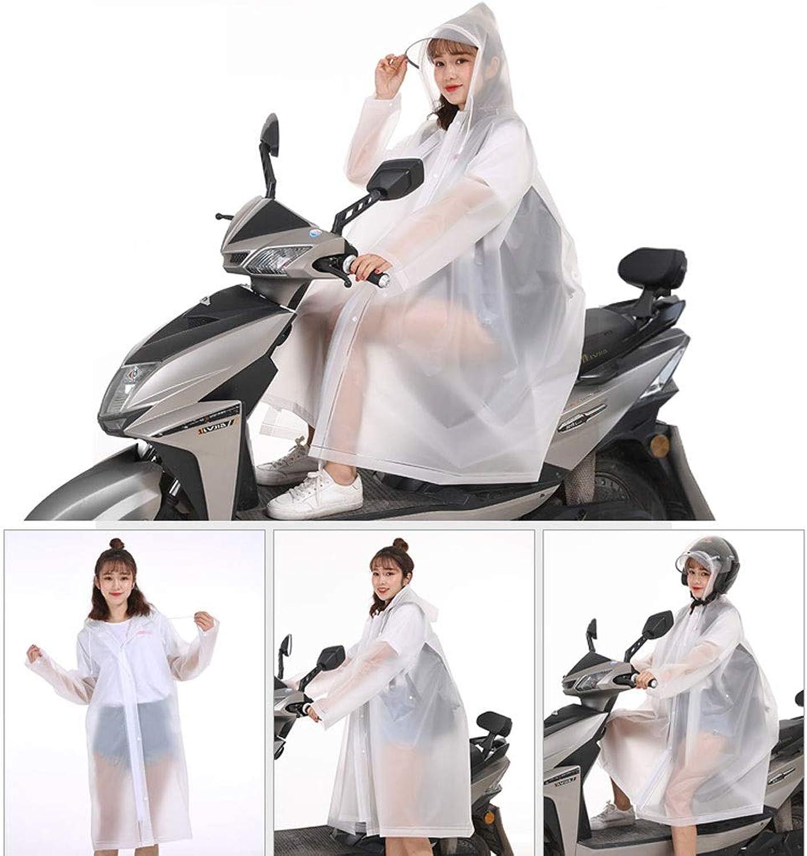 GX Korean Fashion Walking Students Single Men and Women Riding Electric Battery Car Bicycle Poncho
