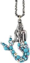 product image for Anne Koplik Mermaid Tail Pendant Necklace, Silver Plated Sea Life Style