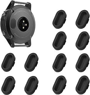KELIFANG Dust Plug Garmin Fenix 5, 5S, 5X, Plus, Silicone Anti Dust Cap Charger Port Protector Fenix 5, 5S, 5X,Plus, Vivoa...