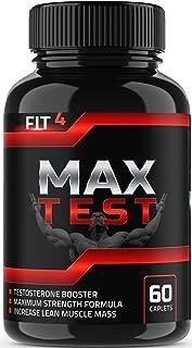 MAX Test | Testosterone Booster | Testosterone Booster for Men | Booster Supplement | Test Booster | for Energy | Tongkat Ali | Boron