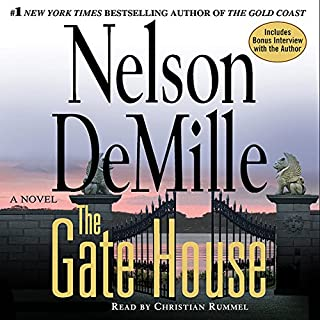 The Gate House audiobook cover art