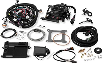 NEW HOLLEY TERMINATOR LS TBI KIT THROTTLE BODY FUEL INJECTION SYSTEM,HARD CORE GRAY,950 CFM,RANGE 600 HP,COMPATIBLE WITH GM LS2/LS3 TRUCK ENGINES W/ 58X CRANK RELUCTOR