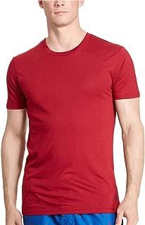 Polo Ralph Lauren Men's Supreme Comfort Crew-Neck T-Shirt (Medium, Red)