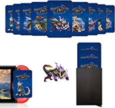 9Pcs NFC Tag Game Cards for The Monster Hunter Rise MHR,Third Party Standard Cards with Portable Aluminium Case,Include: P...