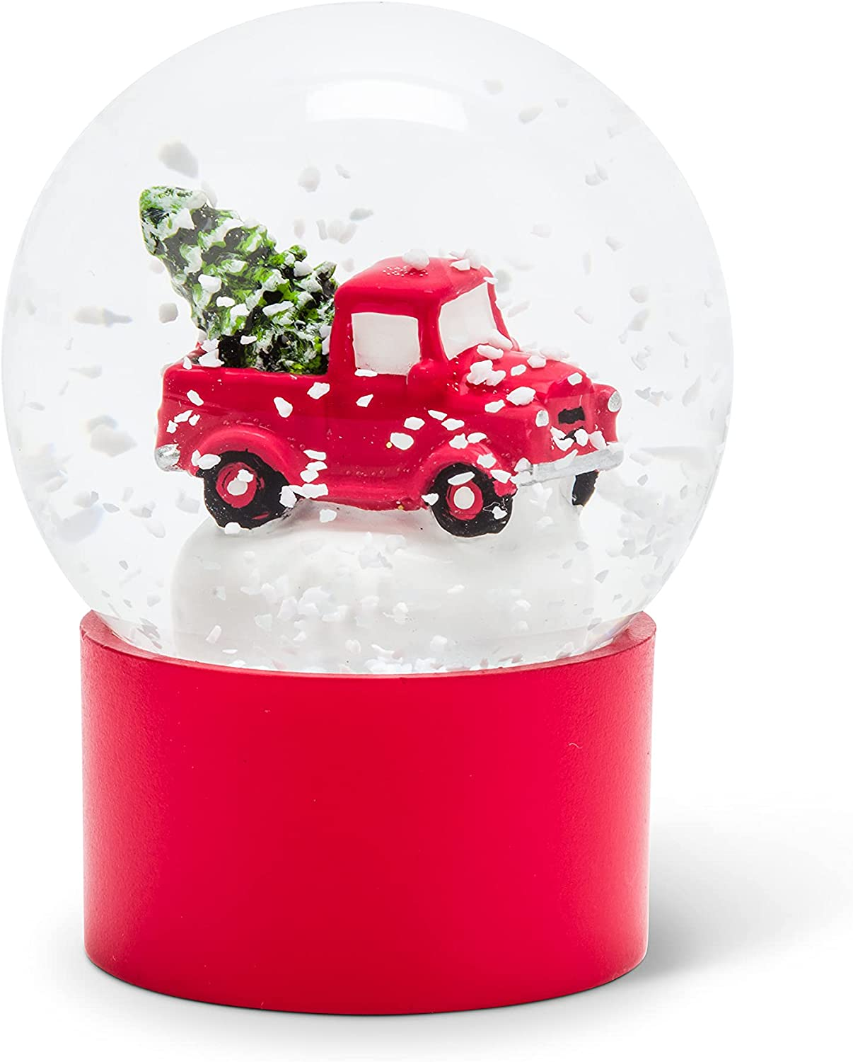 Abbott Collection 27-WOW-6782 Small Max 47% OFF Truck Globe with Snow New life Tree