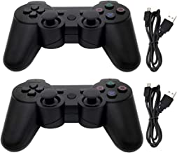 $27 » Dimrda PS3 Controller Wireless Bluetooth PS 3 Remote Controller for Playstation 3 Controller Game Joystick with Charging C...