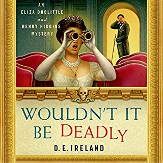 Wouldn't It Be Deadly audiobook cover art