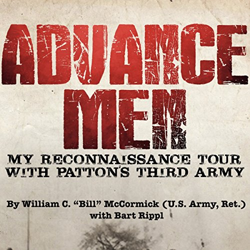 Advance Men audiobook cover art