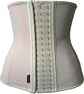 DILANNI Women's Underbust Latex Sport Girdle Waist Trainer Corsets Hourglass Body Shaper